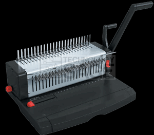 comb binding machine how to use